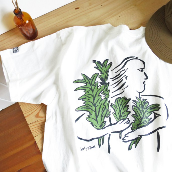 ENDS and MEANS Flower Pocket Tee エンズアンドミーンズ フラワー ポケット Tシャツ / 半袖