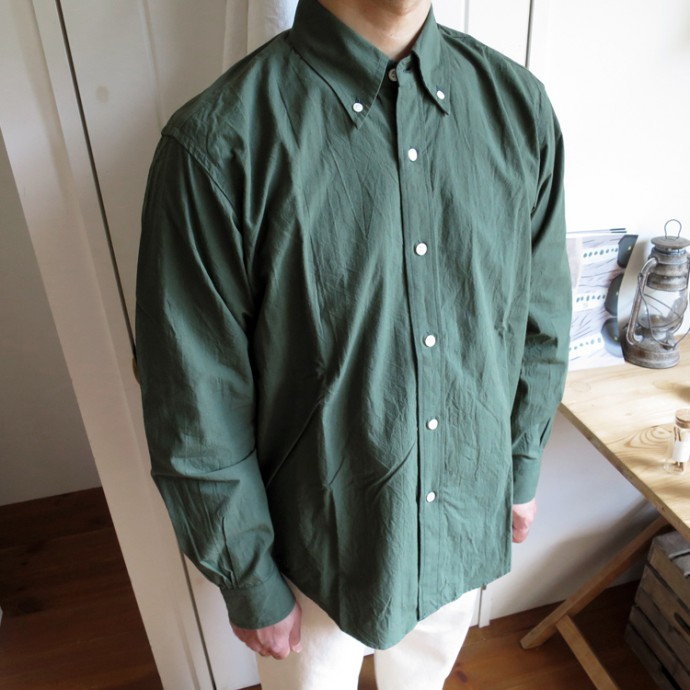 ENDS and MEANS B.D Shirts エンズアンドミーンズ ボタンダウン シャツ