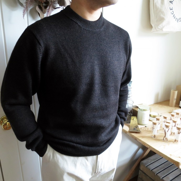 ENDS and MEANS Crew Neck Knit 20AW エンズアンドミーンズ クルーネック ニット
