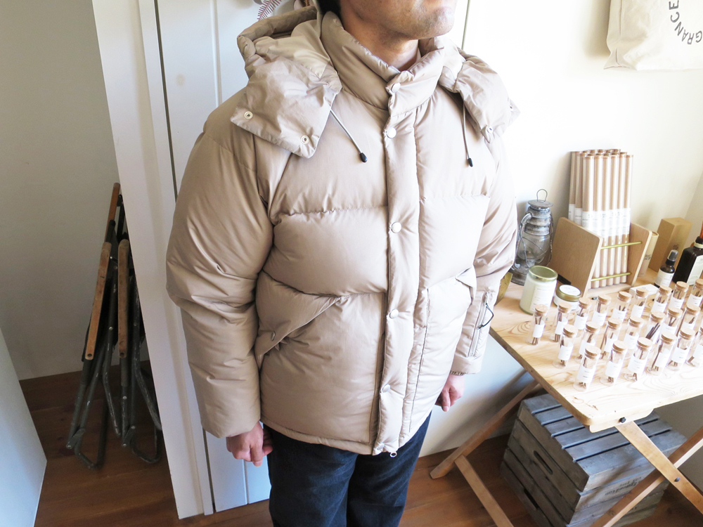 ENDS and MEANS Down Jacket 20AW エンズアンドミーンズ ダウン ジャケット