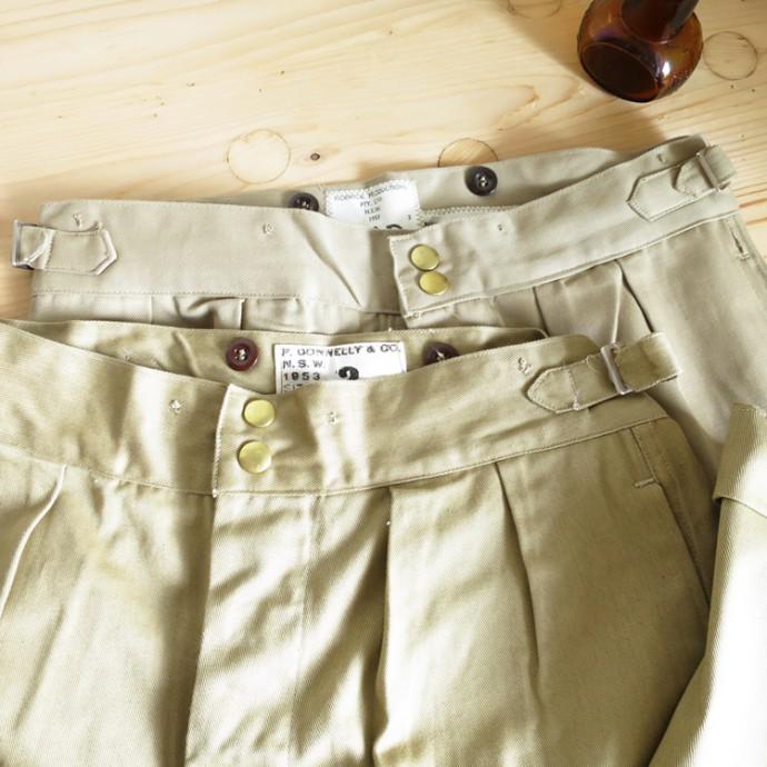 Australian Army / 50's Gurkha Chino Trousers Dead Stock オーストラリア軍 グルカ チノ トラウザー / デッドストック