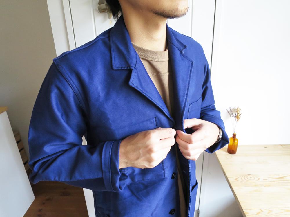50's French Work Jacket / Moleskin Dead Stock フレンチワークジャケット / モールスキン 50年代 デッドストック