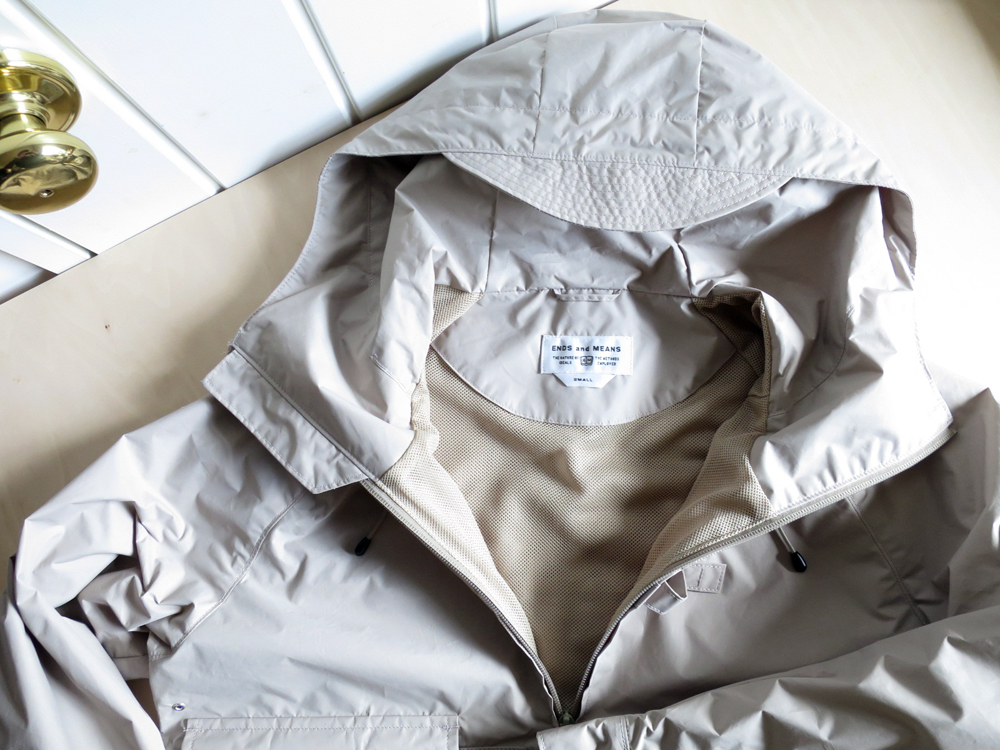ENDS and MEANS - Haggerston Parka エンズ アンド ミーンズ ハガーストン パーカー