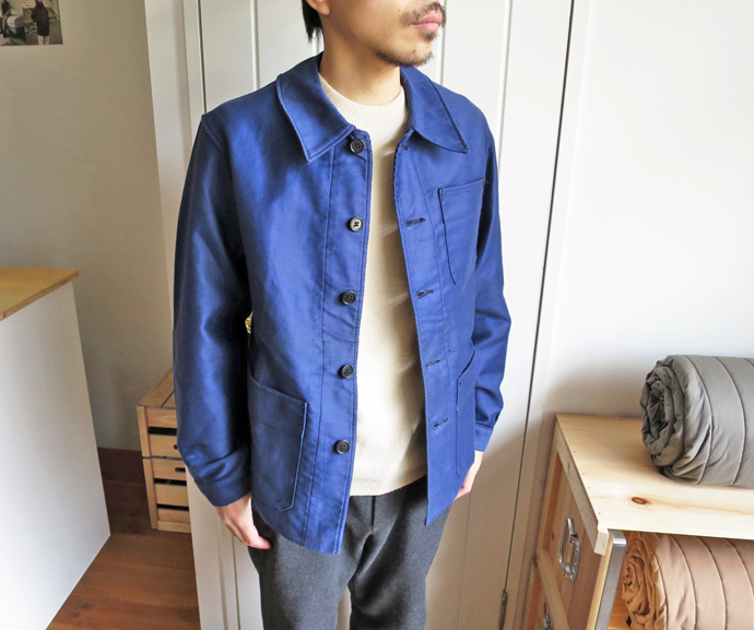 50's French Work Jacket / Dead Stock