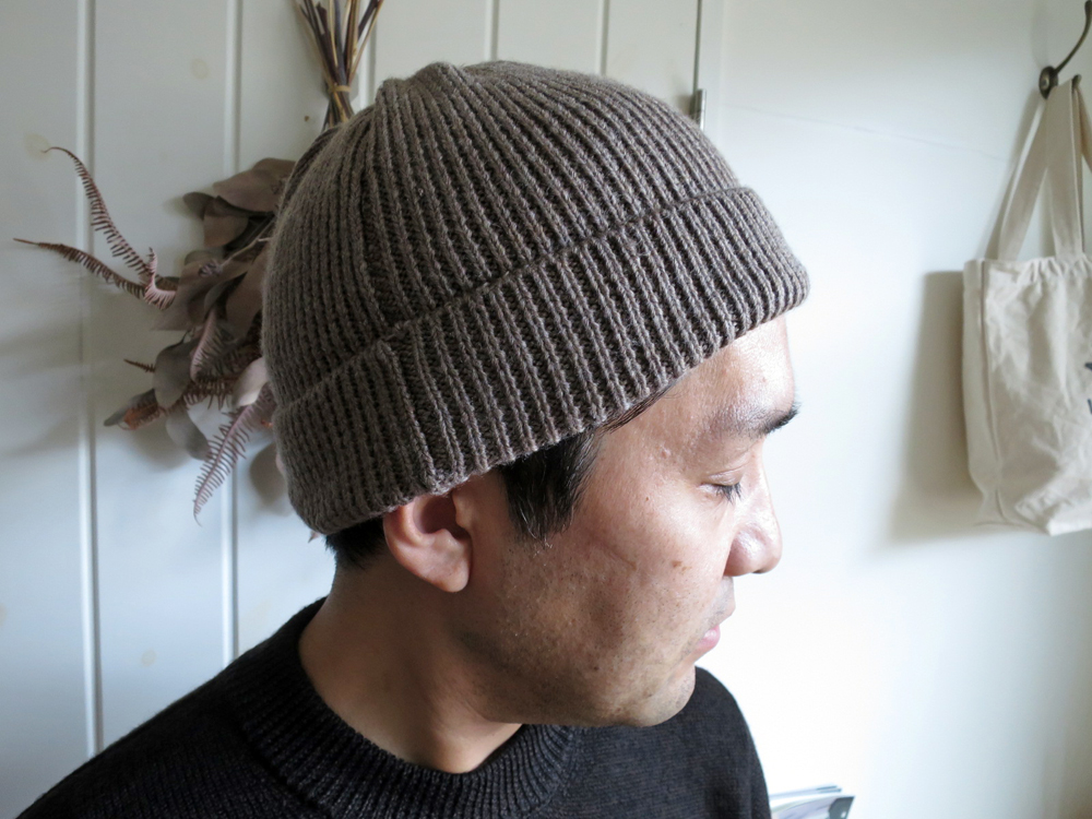 ENDS and MEANS Grandpa Knit Cap エンズアンドミーンズ グランパ ニット キャップ