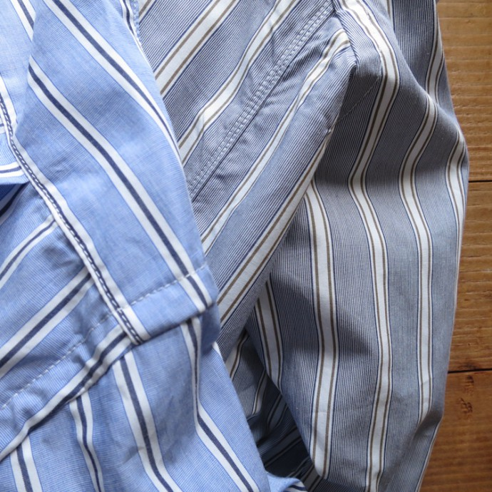ENDS and MEANS Aldous Shirts Stripe エンズアンドミーンズ オルダスシャツ ストライプ