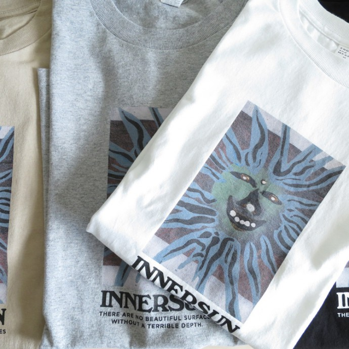 ENDS and MEANS INNERSUN Tee エンズ アンド ミーンズ インナーサン Tシャツ 半袖