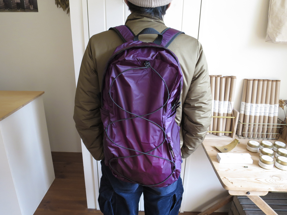 ENDS and MEANS Packable Trip Backpack エンズアンドミーンズ パッカブル トリップ バックパック