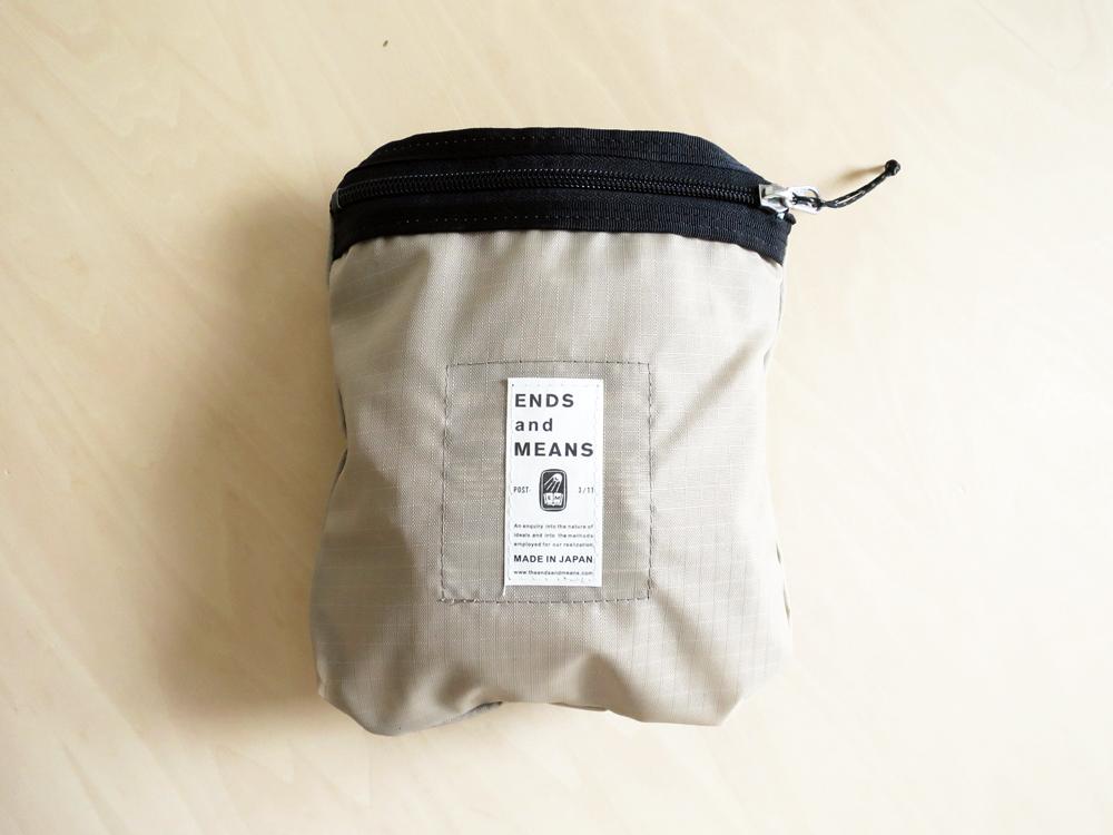ENDS and MEANS Mesh Shoulder Bag エンズアンドミーンズ メッシュ ショルダー バッグ