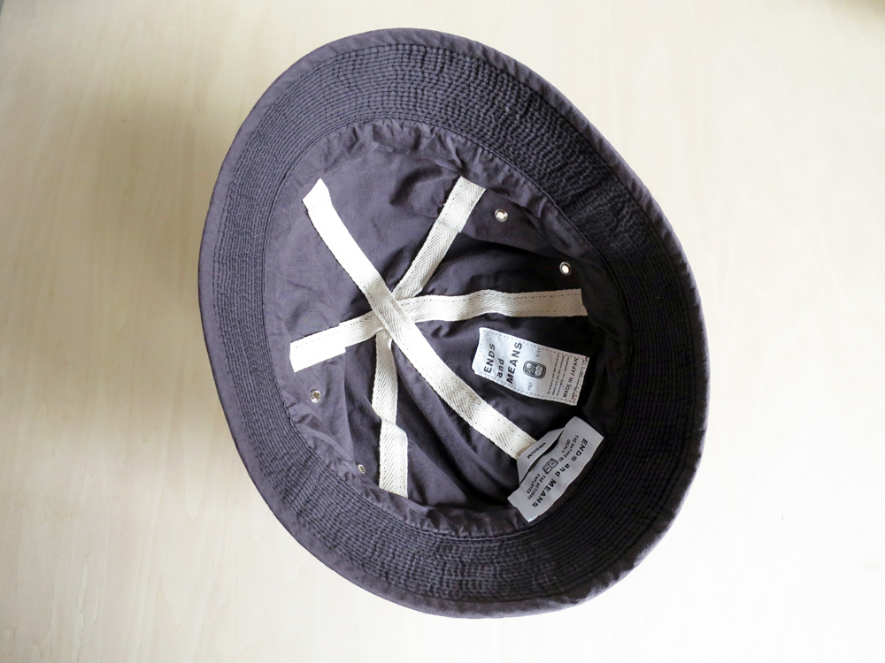 ENDS and MEANS Army Hat エンズアンドミーンズ アーミーハット
