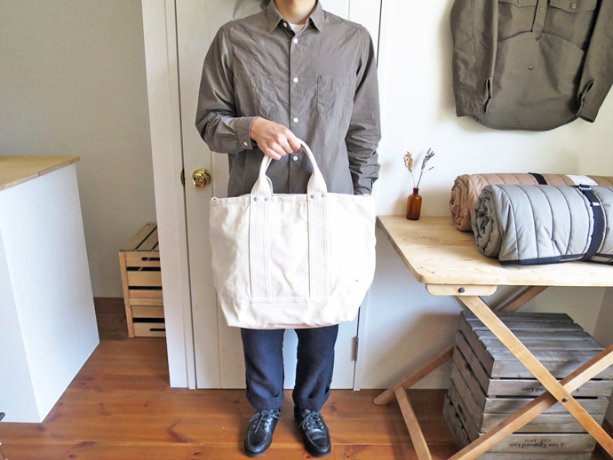 ENDS and MEANS 2way Tote Bag / Natural エンズアンドミーンズ 2ウェイ トートバッグ / ナチュラル
