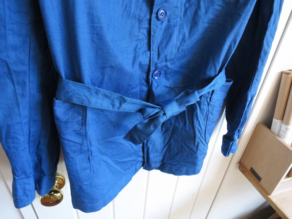 Greece Army / Hospital Jacket – Blue Dead Stock ギリシャ軍 ホスピタルジャケット デッドストック