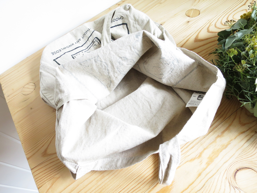 ENDS and MEANS Choose Tote Bag  エンズアンドミーンズ トートバッグ