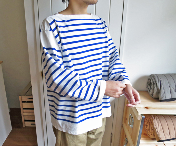 French Army Border Shirt / Dead Stock フランス軍 ボーダー シャツ / デッドストック