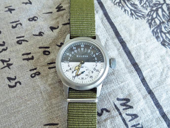 bulova Vintage Military Watch TYPE A-17 ブローバ ヴィンテージ ミリタリーウォッチ
