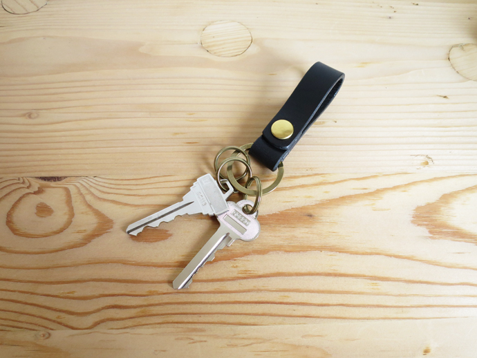 ENDS and MEANS Leather Key Holder エンズアンドミーンズ レザーキーホルダー